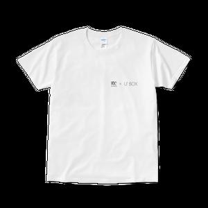 FOC × U'BOX コラボTシャツ(white)