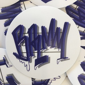 Balmy Grooming & Supply original sticker