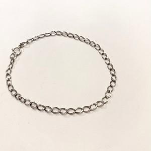 FRANCE vintage silver chain bracelet (I)