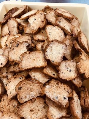 大麦入クルミ&レーズンラスク