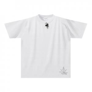 ピンマイクTシャツ-XLサイズ【手描きオリジナル面白デザインシリーズ】