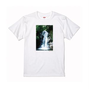 【寄付対象】【CHIKUGO百景】御手水の滝Tシャツ(送料無料)