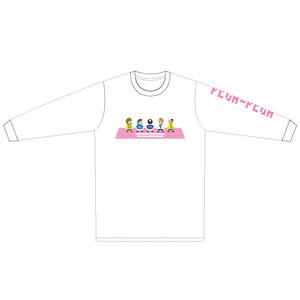"""PEGA-PEGA ロングスリーブ Tシャツ """" livremente"""" PINK"""