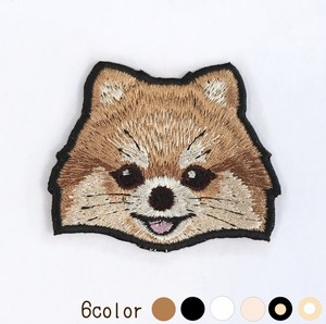 ポメラニアン の刺繍ワッペン 2018 winter collection(受注生産)