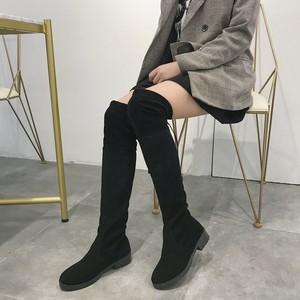 シンプルニーハイブーツ【simple knee high boots】