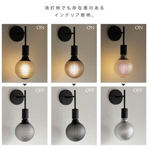 (非調光)E26 エジソンバルブ LED カレイドランプA (麻の葉柄)
