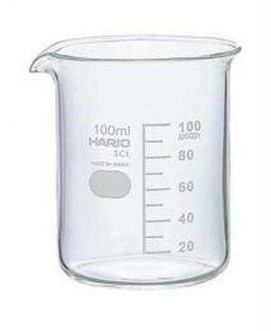 ガラス製ビーカー(100ml)