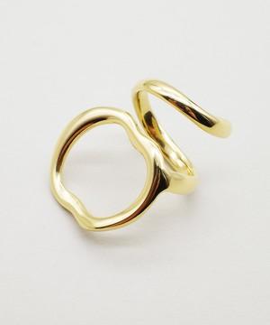 【blanc iris/ ブランイリス】Reef Collection Vermeil Ring / リング
