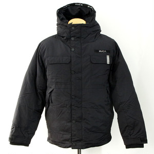 【RVCA】MOUNTAIN PUFFER JACKET (BLACK)