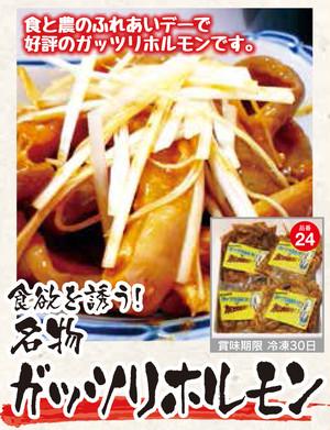 600g(4人前) 名物!ガッツリホルモン【西谷商店】