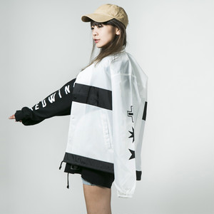 Cross Cut Coach Jacket White