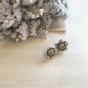 一点再販なし【Vintage accessory】mini silverflower