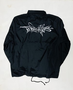Nylon coach jacket -graffiti-