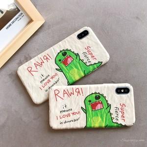 【ファッション小物】定番恐竜動物iphoneX/XS/XR/XsMaxiphone7/8/7p/8plus6/6sスマホケース