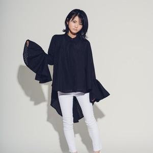 Hi-lo Woven Circular Sleeve Black