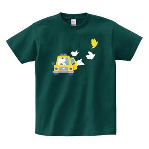 KOMI HIKARUKO Tシャツ/アイビーグリーン
