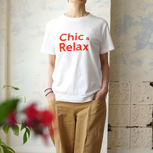 Chic and Relax 大人の休日Tシャツ *リヨカ(Liyoca)