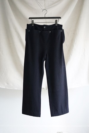 Italian Vintage - Wool Sailor Pants