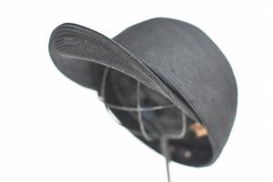 【KLASICA】《UNISEX》LONG VISOR BASEBALL CAP - BLACK