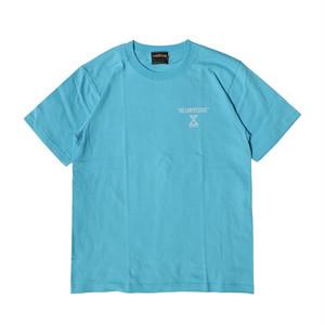 【HELLOWPRESSURE S/S TEE】blue