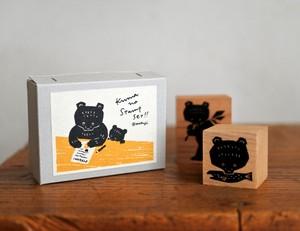 熊のスタンプセット