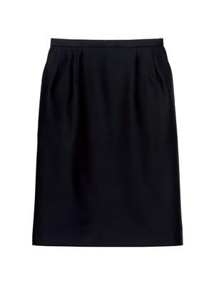 【レンタル】Ladie'sストレッチスカート 無地ブラック(FS2003L-16)