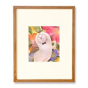 フラワー・キャット・ダンス 原画 / I'm Dancing like Fluttering Petals Original Artwork