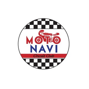 MOTO NAVI☆サーキット部 Button Badge