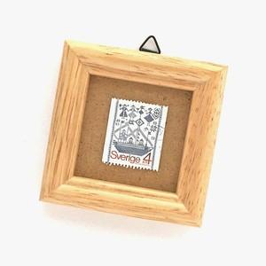 切手フレーム「スコーネ地方の織物による壁掛(1979)」