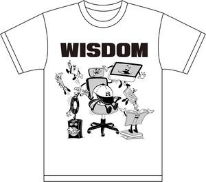 "(予約商品)WDsounds x WACK WACK ""WISDOM T-SHIRTS"""