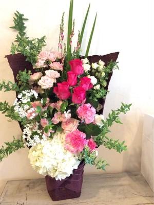 《生花》Croisお任せアレンジメント~花贈りタイプ~