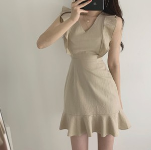 lady frill onepiece 2color