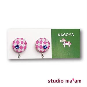 ■NAGOYA-07  イヤリング。まる。〜ピアス変更可〜
