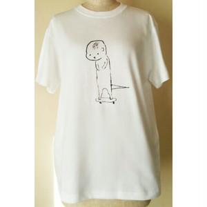 かわうそスケボーTシャツ