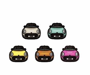 【お得】ステッカー MINI CAR 5色セット