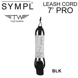 (送料無料)シンプル SYMPL リーシュコード サーフィン 7 PRO TYLER WARREN タイラー・ウォーレン