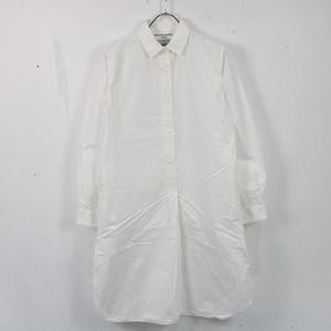 YAECA / ヤエカ   ロングプルオーバーシャツ   S   ホワイト   レディース