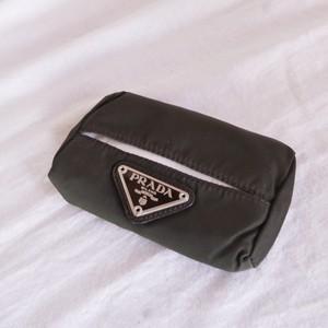 PRADA Pcket Tissue Purse #01 -Black-