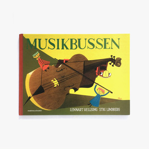 スティーグ・リンドベリ:絵「MUSIKBUSSEN(にぎやかな音楽バス)」《2008-01》