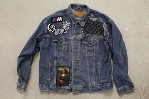 Off-Canal St / LV Vintage Levis Custom Denim Jacket