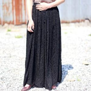vintage india rayon skirt