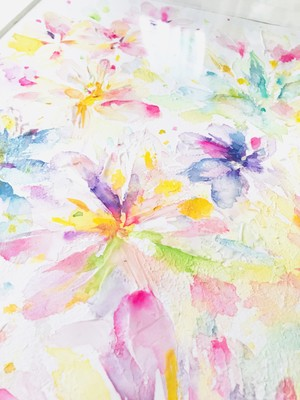 ◯ Light ( rainbow flower )