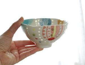 風船ホタル茶碗