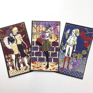 collection cards MODERN GIRLS Ⅱ(3枚セット)