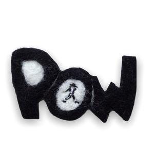 [羊毛フェルト] POWブローチ -マイケル-