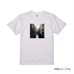 """""""心に火をつけて"""" T-shirt(White)"""