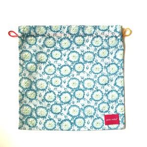 北欧デザイン 巾着 | blue blue