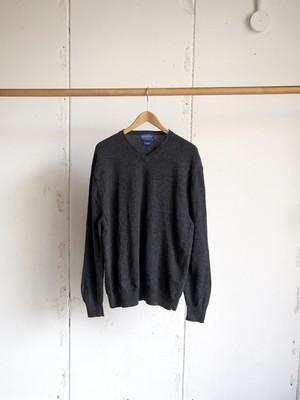 USED / PENDLETON, Wool V-neck knit