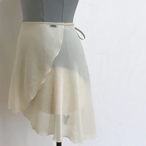"❖""Fiorina"" Ballet Wrap Skirt - Ecru [Sheer]( エクリュ [シアー])"