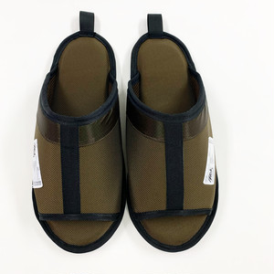 RESmivdiv/ROOM SHOES_ BROWN.
